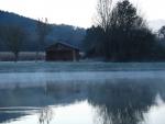 Cabane lac
